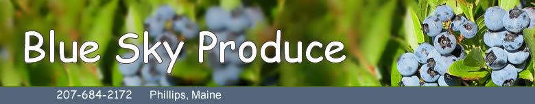 Blue Sky Produce banner
